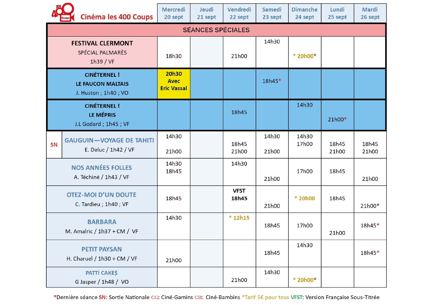 grille horaire semaine 20 sept(1)-001