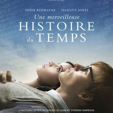 Une merveilleuse histoire du temps – Ciné-Débat – Mercredi 14 Décembre à 20h30