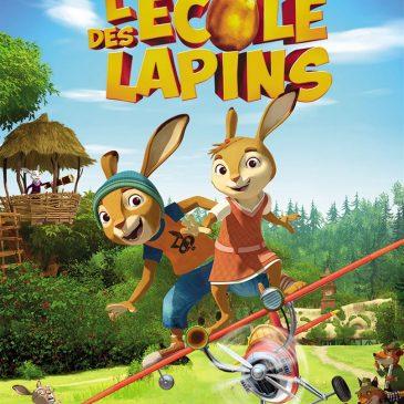 L'école des lapins – Ciné-Goût-Thé – Mercredi 3 mai à 14h30