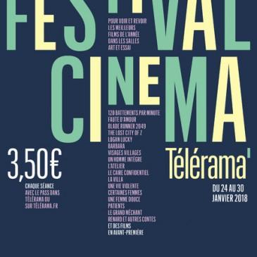 Du 24 au 30 janvier 2018 : Festival Télérama