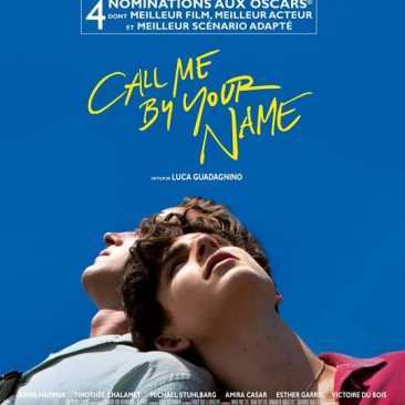 Call me by your name /Sortie nationale