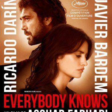 Avant première/ Everybody knows