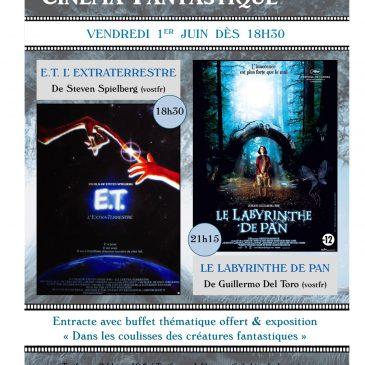 Soirée du cinéma fantastique/1er juin 18h30