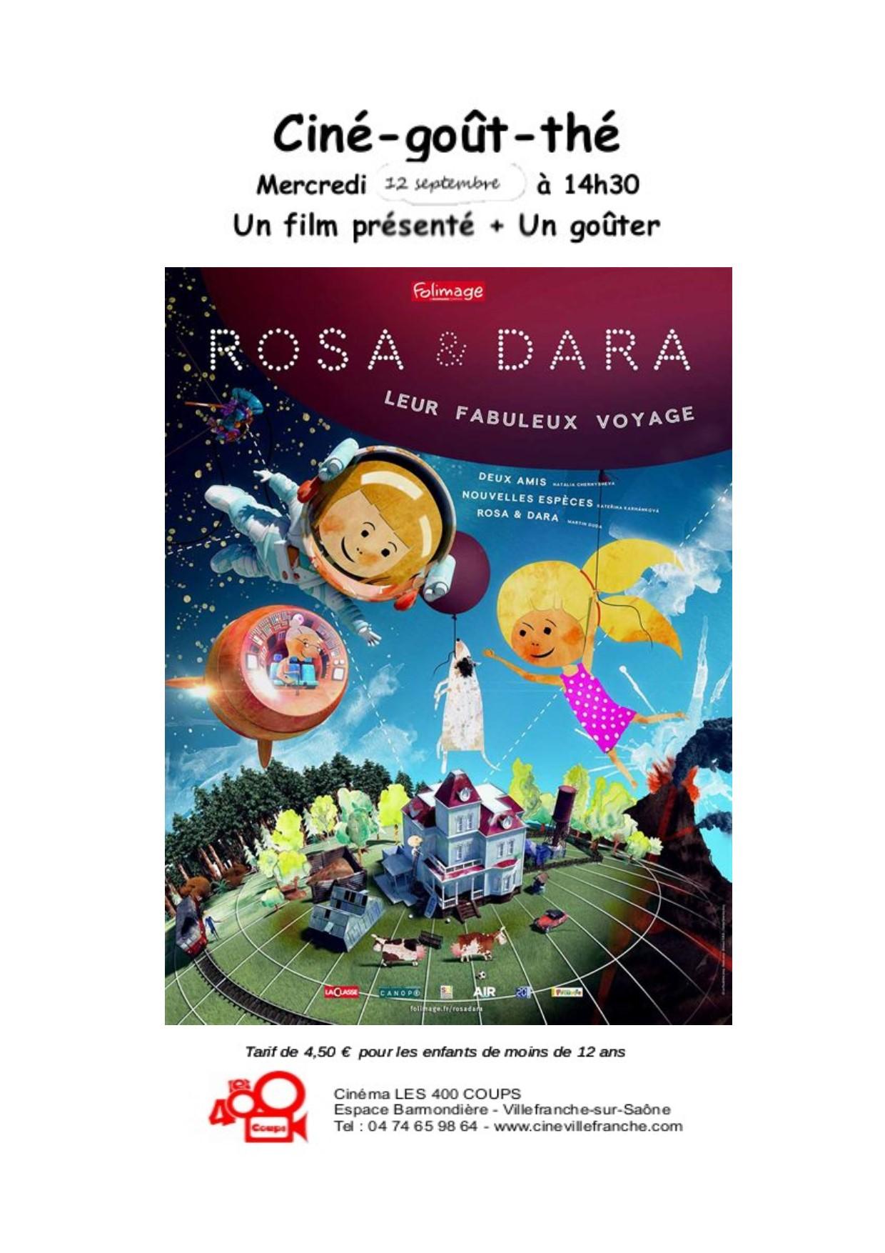 flyer Rosa et Dara
