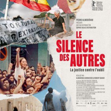 Le silence des autres/ciné débat le 15 mai à 20h