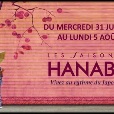 Festival Les saisons Hanabi du 31 juillet au 05 aout