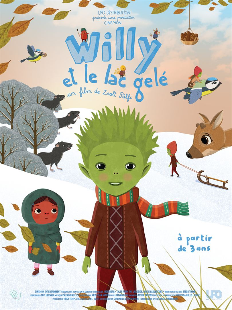 Willy et le lac
